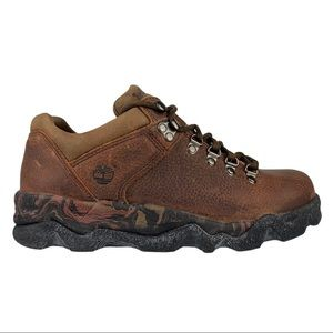 Vintage Timberland Hiking Boots Low Camo Sole 8.5